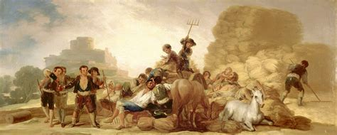 Archivo:Goya y Lucientes, Francisco   The Threshing Floor ...