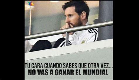Argentina vs. España: los memes en Facebook de la goleada ...