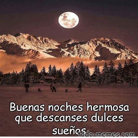 ArrayMeme de Buenas noches hermosa que descanses dulces sueños
