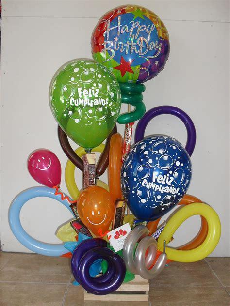 Arreglo con Globos de Cumpleaños   globos   Pinterest ...