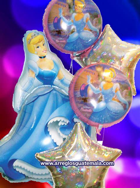 Arreglos con globos infantiles de cumpleaños