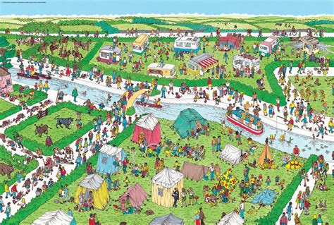Art Sci: 10 Where s Waldo Puzzles Online