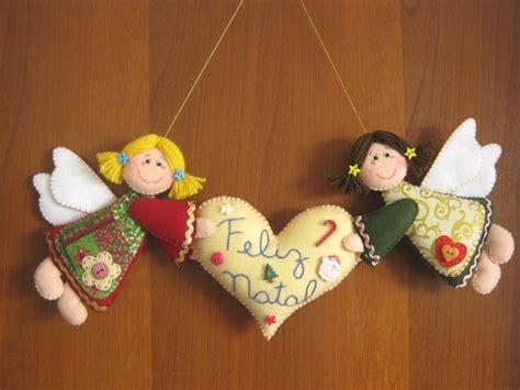 Arte e Mimos   Artesanato em feltro: Feliz Natal!