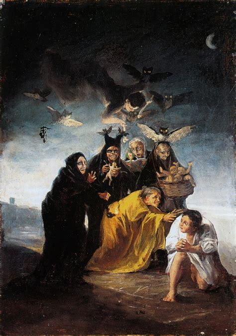 as obras naturalistas do pintor espanhol francisco de goya