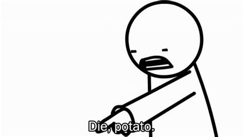 Asdf Movie Die Potato Gif | www.imgkid.com   The Image Kid ...