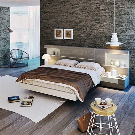 asombroso dormitorios matrimonio modernos blanco ademas ...