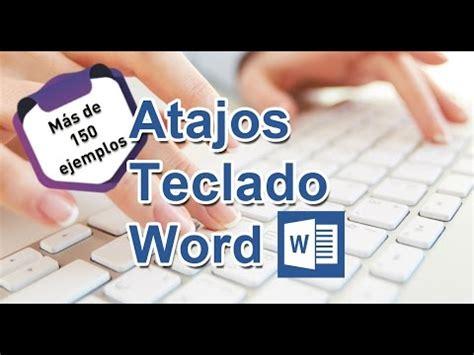 Atajos de Teclado en Word 2010 | conestecurso