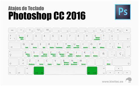 Atajos de teclado para Photoshop CC 2016 | Kiwitec