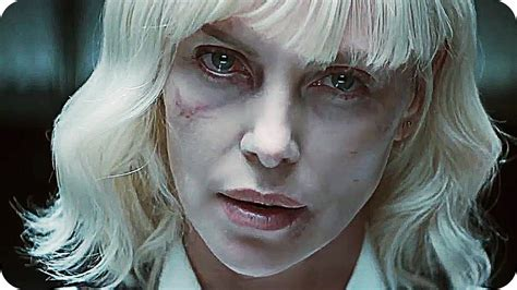 ATOMIC BLONDE Red Band Trailer  2017  Charlize Theron ...
