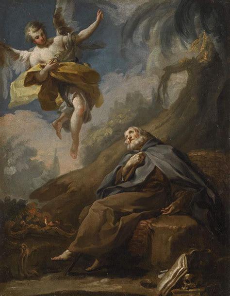 Autor: Goya Título: Muerte de san Antonio Abad Fecha: 1772 ...