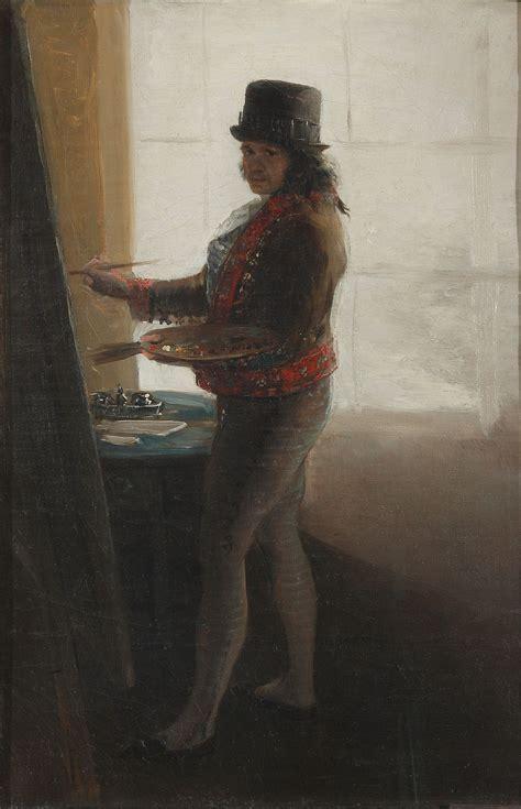Autorretrato en el taller  Goya    Wikipedia, la ...