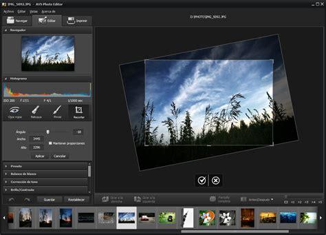 AVS Photo Editor   edita tus fotos, aplica efectos y ...