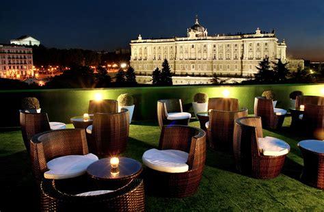 Azoteas y terrazas de hotel con vistas maravillosas de Madrid