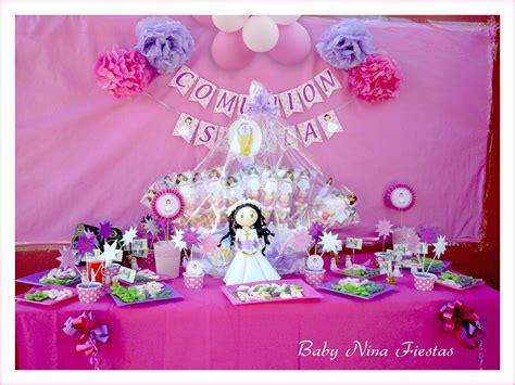 Baby Nina Fiestas: Guirnalda y centros de mesa para la ...