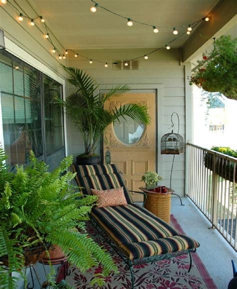 Balcones pequeños decorados con mucho estilo   45 ideas