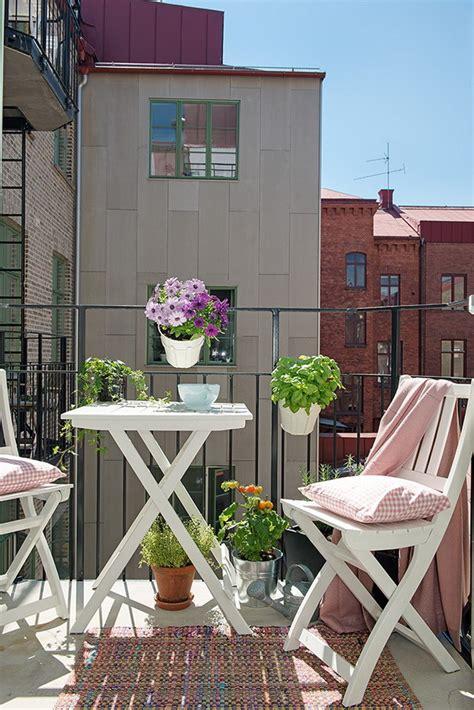 Balcones pequeños. Ideas para decorar balcones pequeños.