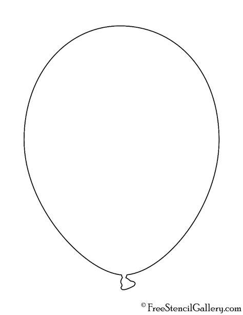 Balloon Stencil | Free Stencil Gallery