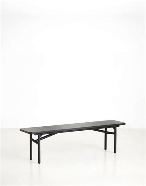 Banco de madera negro | DIH La tienda de muebles online