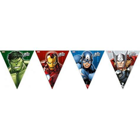 Banderín de fiesta de los Vengadores | Artículos para fiestas