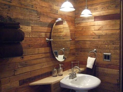 Baños decorados económicos reciclando Palets: 30 Ideas ...