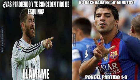 Barcelona vs Real Madrid: Luis Suárez y Sergio Ramos ...