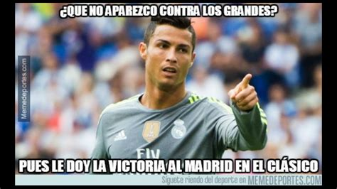 Barcelona vs. Real Madrid memes | Deportes | Trome.pe