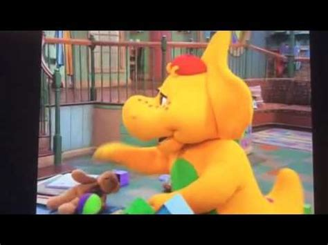 Barney ready set play clean up song   YouTube