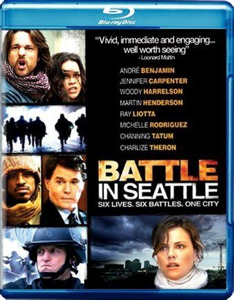 Battle in Seattle  Blu ray   2008  Starring Ray Liotta ...