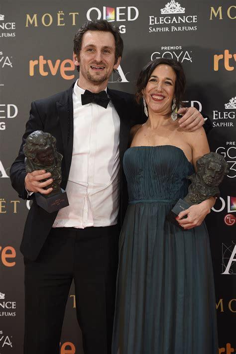 Beatriz Bodegas junto a Raúl Arévalo, ganadora del Goya ...