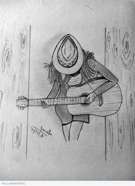 Beautiful Pencil Sketches Of Guitar Beautiful Drawings Of ...