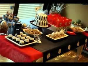 Béisbol decoración de la fiesta de cumpleaños   YouTube