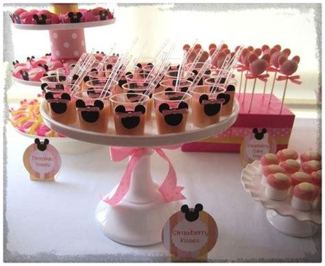 Bellas Decoraciones de Fiestas Infantiles de Minnie Mouse ...
