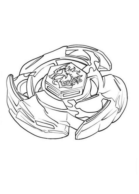 Beyblade para colorear, pintar e imprimir