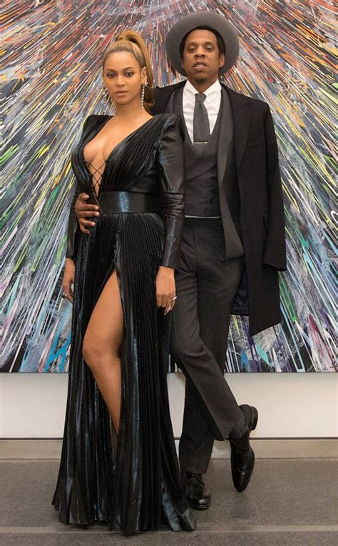Beyonce & Jay Z from Grammys 2018 Pre Party Pics   E! News