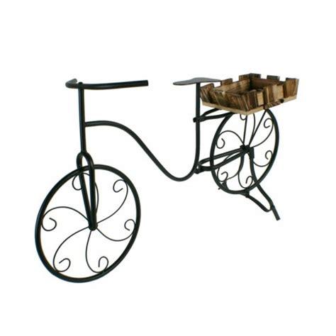 Bicicleta para plantas decoración jardín