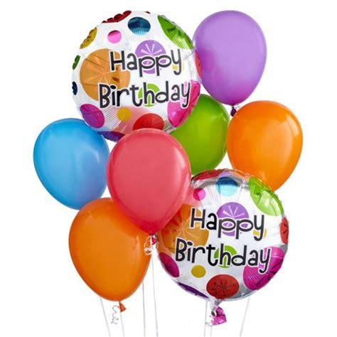 Birthday Balloon Bunch at Send Flowers