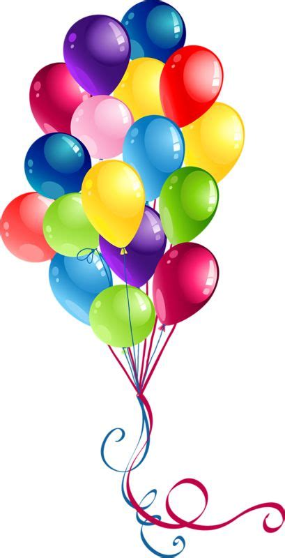 Birthday balloons free happy birthday balloon clipart ...