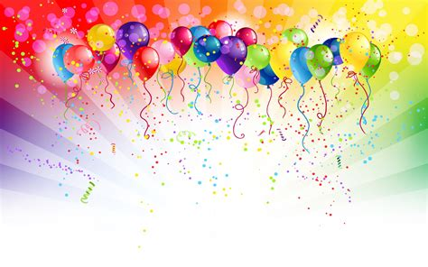 Birthday Balloons Wallpaper 3174 1920 x 1200 ...