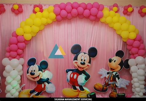 Birthday party Decoration at Home – Themed Birthday ...