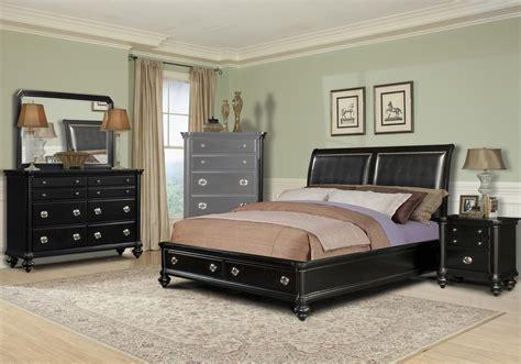 Black King Bedroom Furniture Sets | Raya Furniture