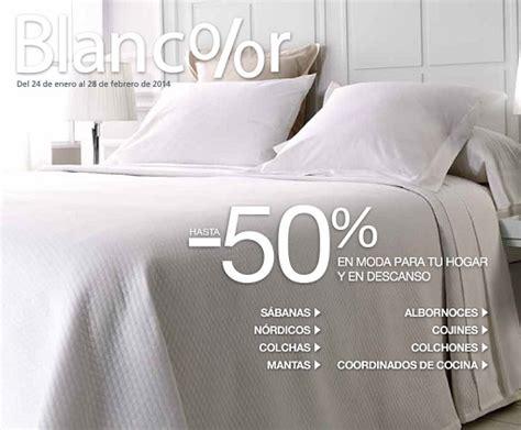 Blancolor 2014: ofertas El Corte Inglés en textiles para ...