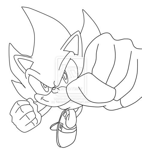 Blog MegaDiverso: Sonic para colorear y descargar