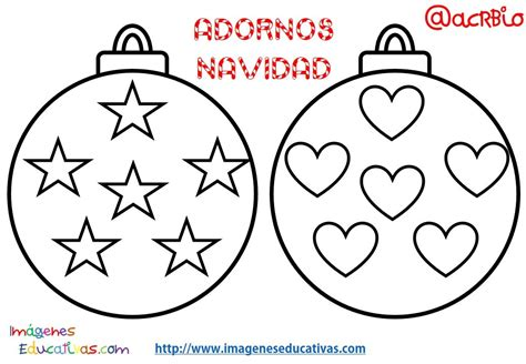 Bolas de navidad colorear  2    Imagenes Educativas