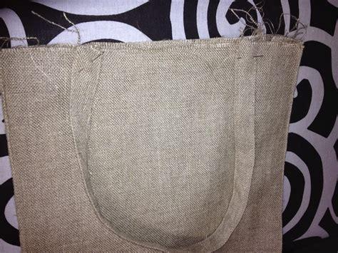 Bolsa rectangular multiusos con tela de saco   Manualidades