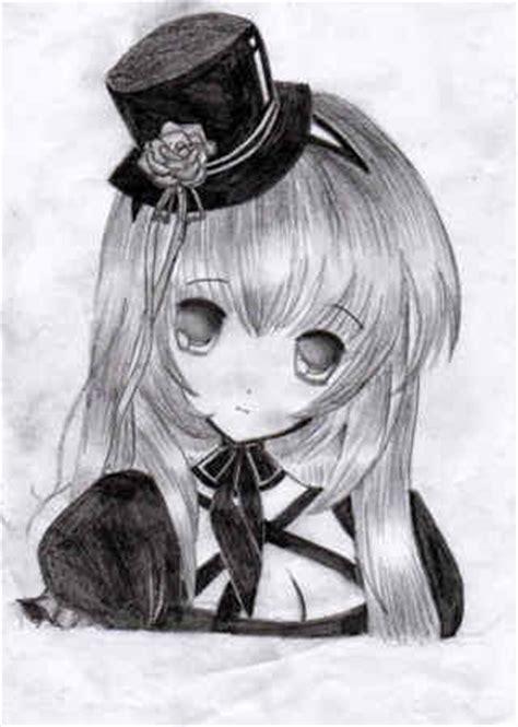 Bonitos dibujos de animes a lápiz de amor