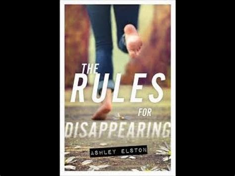 Book Review  The Rules for Disappearing by Ashley Elston ...