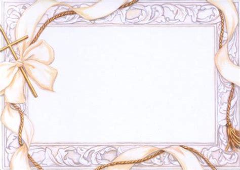 Bordes decorativos para tarjetas de primera comunión ...