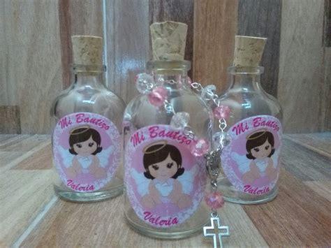Botella Con Denario Recordatorio Bautizo, Primera Comunion ...