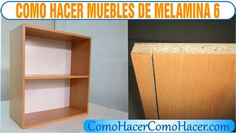 bricolage como hacer muebles laminados melamina 6   YouTube