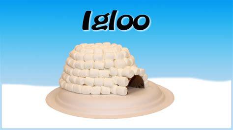 Bricolage igloo avec des guimauves   YouTube